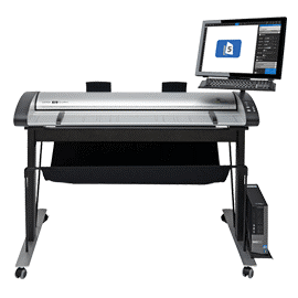 "IQ Quattro ScanStation PRO (21.5"" touchscreen, High/low stand, Nextimage 5 REPRO software, upto 1200dpi) Image"